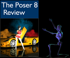Poser By Design Resource for free Poser 7 content, tutorials
